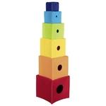 58676_Cubes à empiler arc-en-ciel