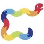 57426_Puzzle serpent en feutrine Goki