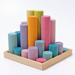 Grands cylindres pastel - Grimm's