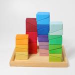 30 blocs de construction inclinés - Grimms 3