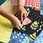 Poster panorama et stickers Aquarium Poppik 6