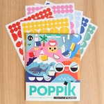 Poster panoramique + 520 stickers 4 saisons Poppik 3
