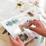 Jeu-educatif-Poppik-Puzzle-Stickers-Autocollants-affiche-insectes-3