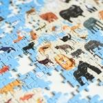 Puzzle Animaux 500 pièces Poppik 2