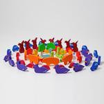 Figurines pour compter ou raconter des histoires -Lot de 55 Grimms  7