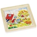 90057684_Puzzle en bois Les 4 saisons - 4 couches GOKI