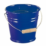 535056 Seau coloré en métal bleu  Glückskäfer