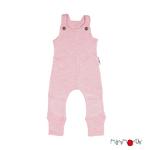 Salopette en laine ManyMonths - coloris 2021  Stork Pink_1500px-L