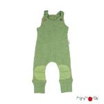 Salopette en laine ManyMonths - coloris 2021 Jade Green_1500px-L
