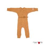 Combinaison en laine ManyMonths - coloris 2021 Honey Bread_1500px-L