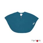 ManyMonths Multi cape en laine - coloris 2021 Mykonos Waters