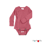 Body kimono Manches Longues ManyMonths - coloris 2021 Earth Red