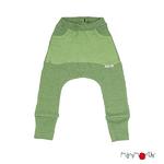 Kangaroo Pants Sarouel à poche ManyMonths - coloris 2021 Jade Green