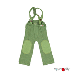 ManyMonths Hazel Pants à bretelles en laine - coloris 2021 Jade Green