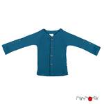 Gilet en laine ManyMonths - coloris 2021 Mykonos Waters