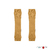 ManyMonths Jambières mitaines en laine - coloris 2021 Honey Bread-L