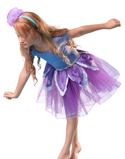 50403-Flower-Tutu-PurpleLavender-XS-Model-Side