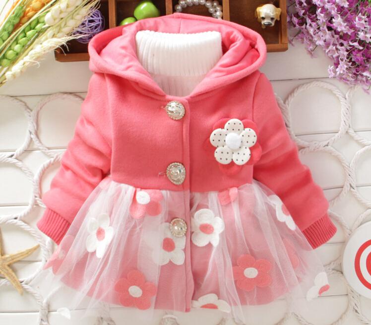 Manteau petite fille fleurs marque boho boheme chic coat0179