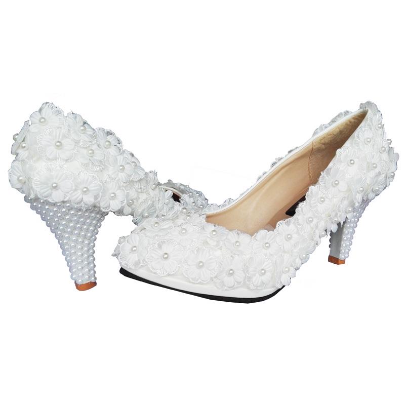 Chaussures perles fleurs mariage boho boheme chic shoes0086