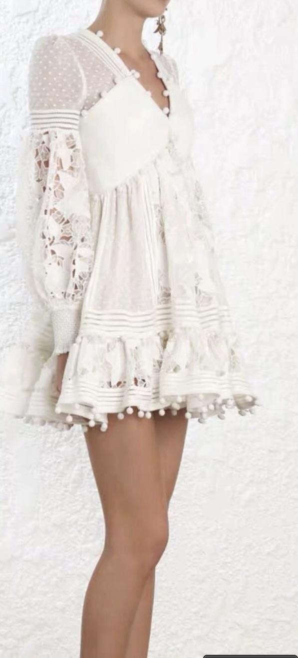 Robe  courte haute qualité boho bohème chic DRESS1541