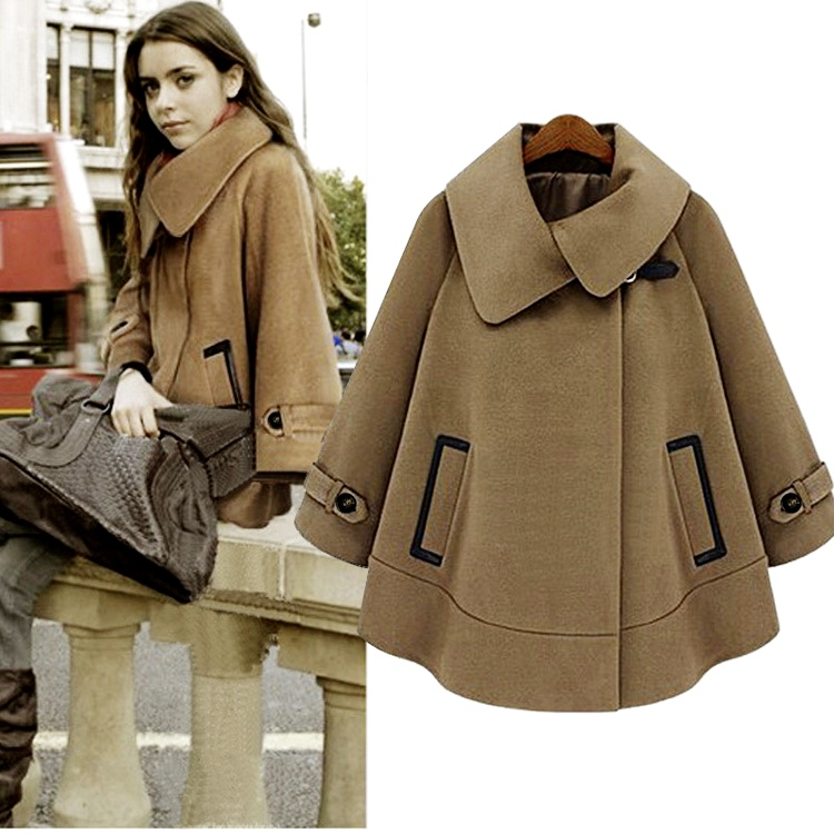 Manteau cape vintage boho boheme chic coat0174
