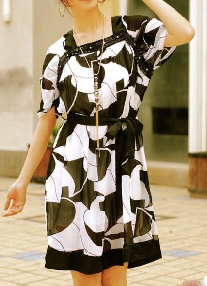Robe col bijou boho boheme chic DRESS1465