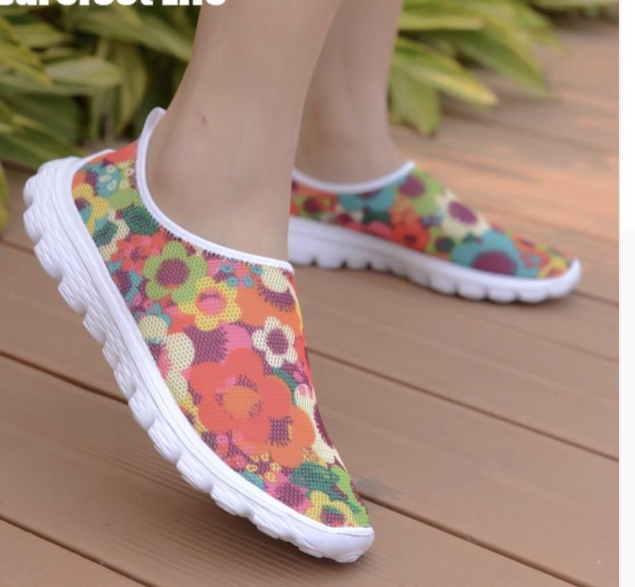 Chaussures plates fleurs boho boheme chic SHOES0095