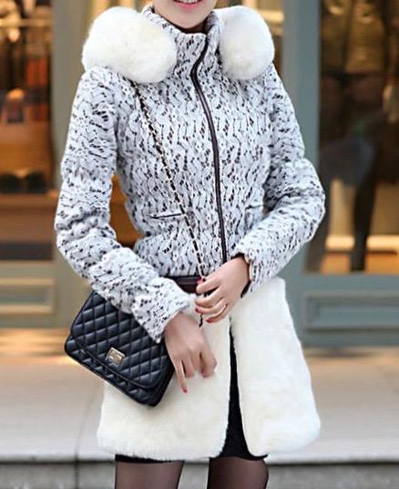 Veste manteau 2 longueurs dentelle boho boheme chic COAT0111