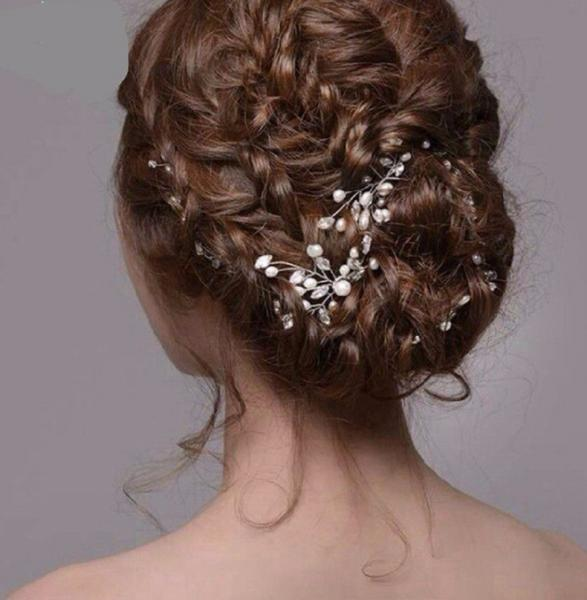 Piques cheveux perles strass boho boheme chic ACCESS0411