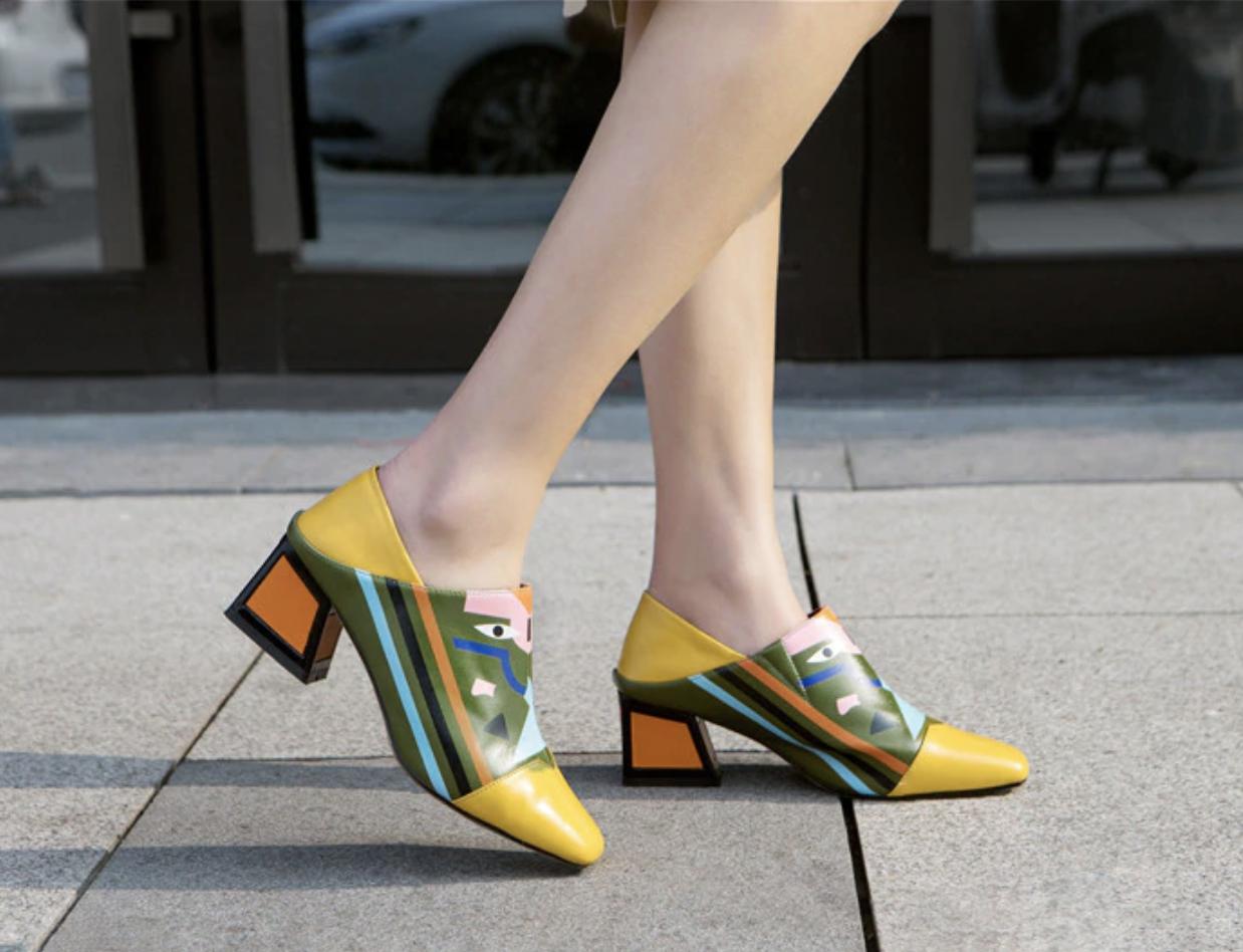 Chaussures haute qualité colorées boho boheme chic CHAUSS0114