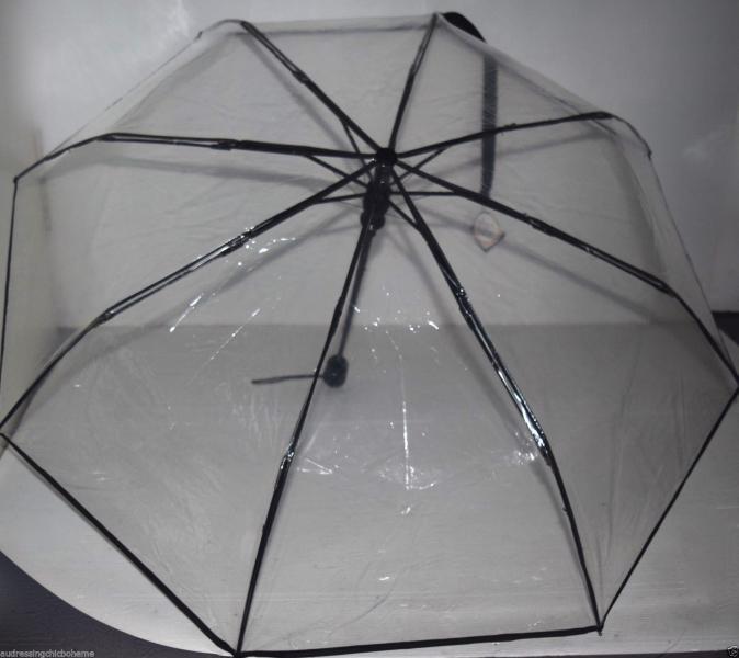 Parapluie transparent pliant boho boheme chic div0430
