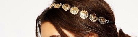 Bandeau cheveux pièces boho bohème chic ACCCHEV0384