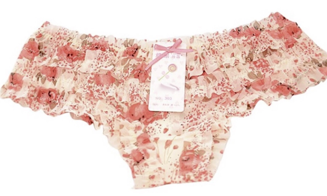 Culotte fleurs boho bohème chic LING0345