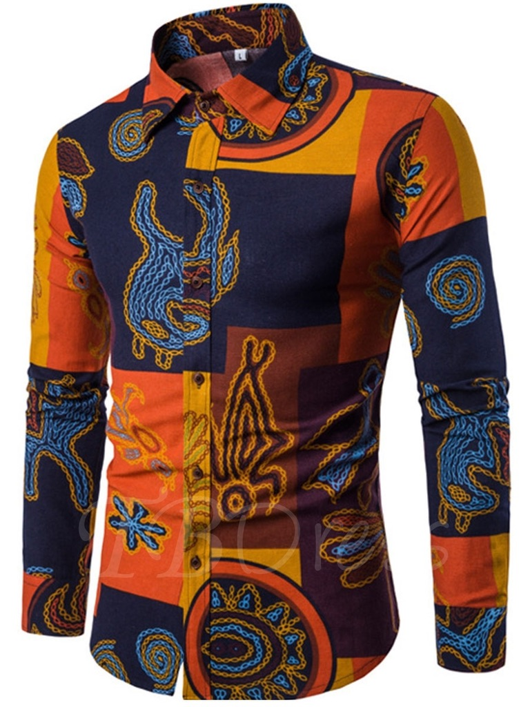 Chemise homme ethnique boho boheme chic HOM0058