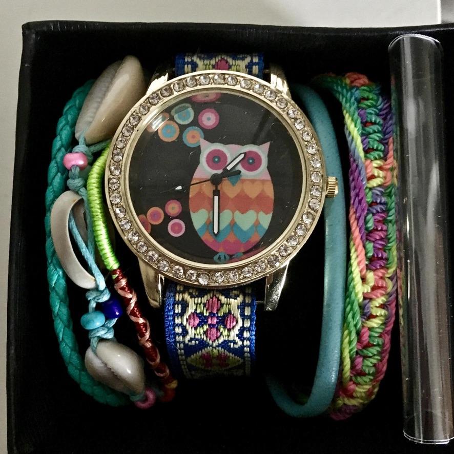 Montre bracelet style hipanema boho boheme chic watch0394