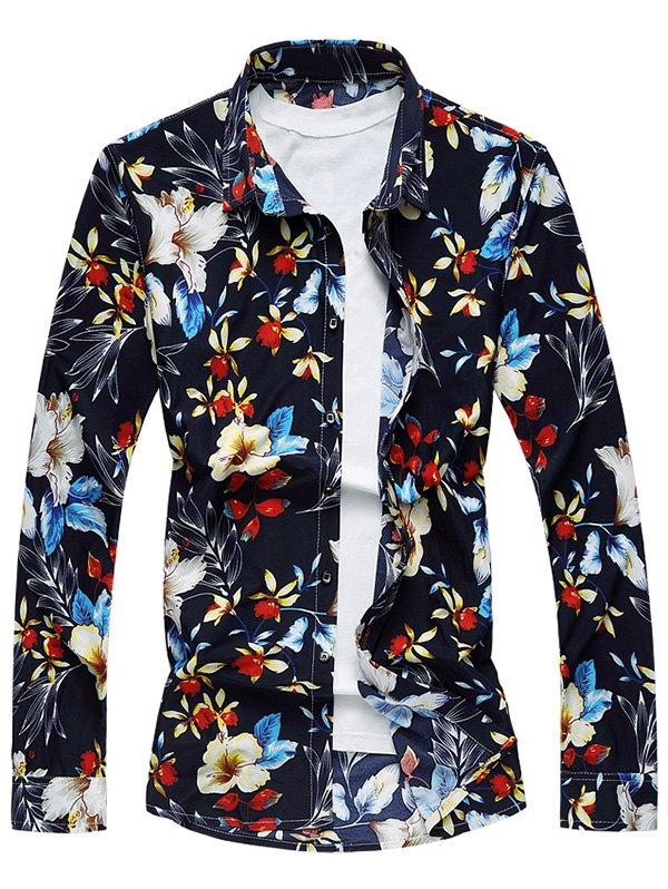 Chemise fleurs homme marque boho boheme chic HOM0052