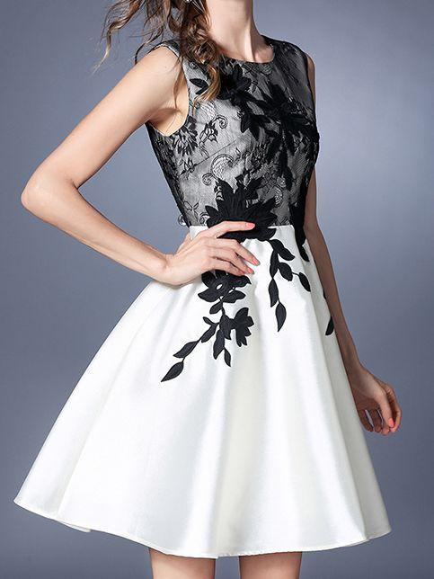 Robe buste dentelle haute qualité boho boheme chic dress1237