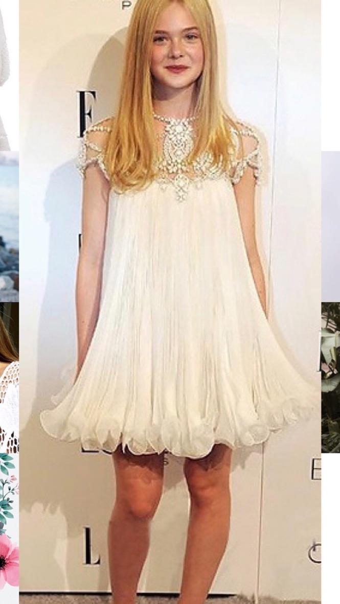Robe courte encolure bijou mariage marque boho boheme chic dress1230