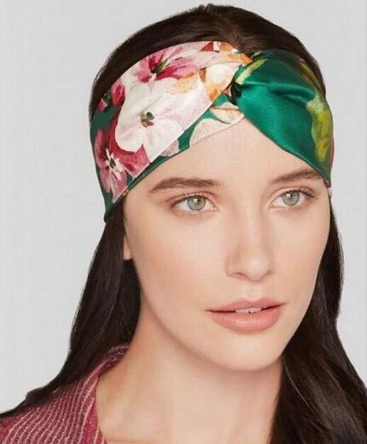 Bandeau tissu fleurs marque boho boheme chic access0309