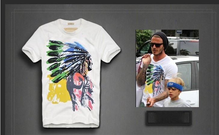 Tee shirt homme indiens boho boheme chic HOM006