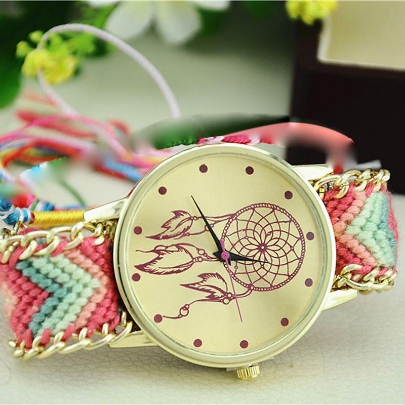 Montre bracelet brésilien boho boheme chic watch0408