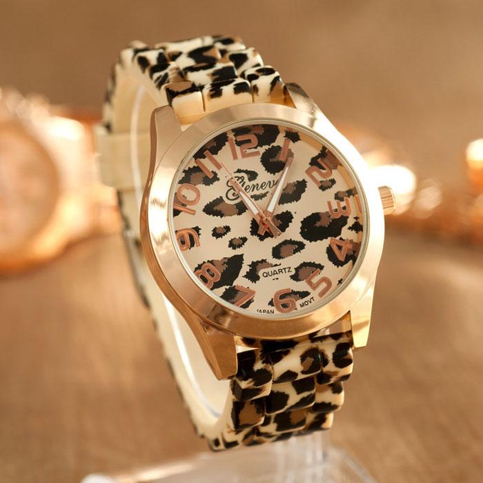 Montre bracelet léopard boho boheme chic watch0387