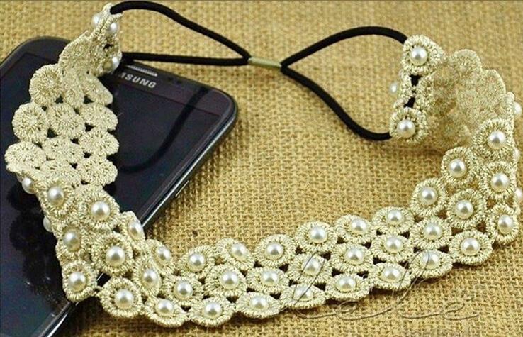 Bandeau cheveux perles boho boheme chic access0243