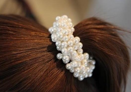 Attache cheveux perles marque boho boheme chic  HAIR0117