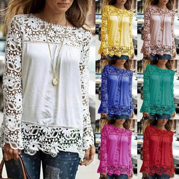 Top blouse dentelle mousseline boho boheme chic top0143