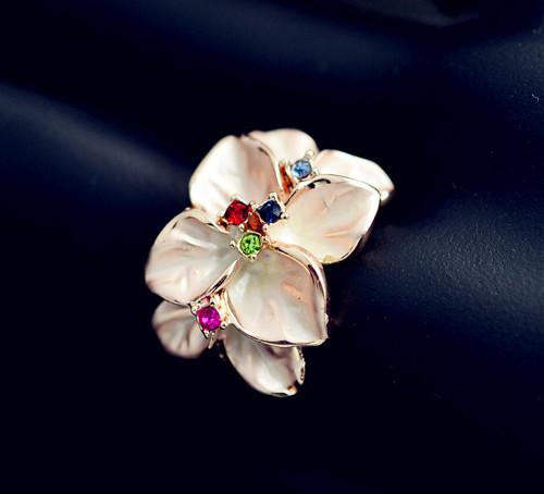 Bague fleur boho boheme chic ring0417