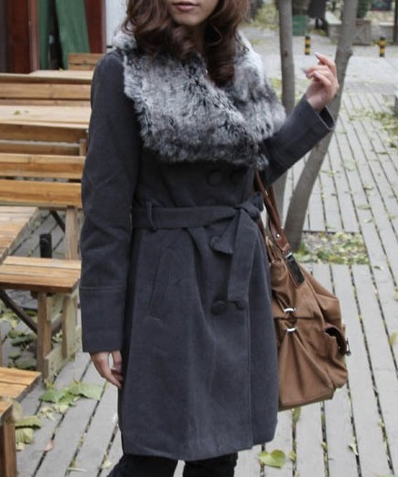 Manteau large col boho boheme chic COAT0059