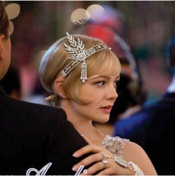 Diadème Gatsby mariage marque boho boheme chic  CHEV0132