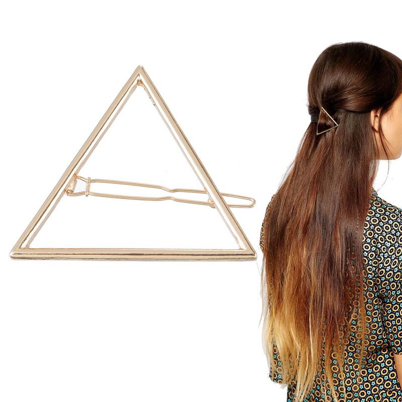 Barrette triangle boho boheme chic hair0215