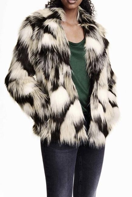 Manteau fausse fourrure boho boheme chic coat0195